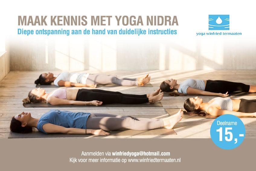 Yoga Nidra in Den Haag
